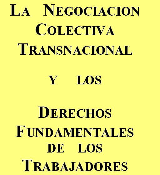 La  negociacion Colectiva Transnacional